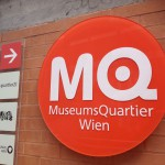 Museumsquartier Sign